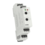 Мултифункционално реле за време в комплект с външен потенциометър CRM-2HE /UNI