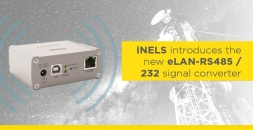 iNELS introduces the new eLAN-RS485 / 232 signal converter