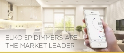 ELKO EP dimmers are the market leader
