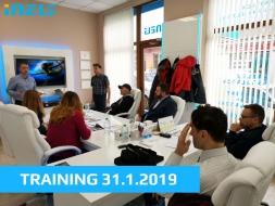Distributors and partners training - 31.01.2019 - Gabrovo