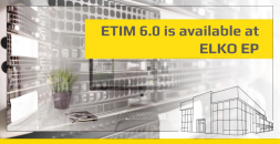 ETIM 6.0 is available at ELKO EP