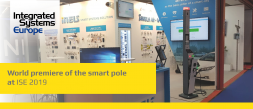 World premiere of the smart pole at ISE 2019