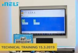 Technical training - 15.3.2019