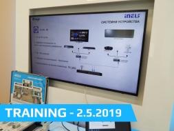 Technical training - 2.5.2019