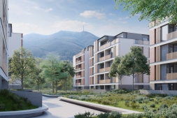 """New """"smart"""" residental complex is being built between """"Boyana"""" and """"Dragalevci"""" with prices starting from 950 Euro"""
