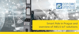 Smart pole in Prague and an overview of IoT iNELS solutions
