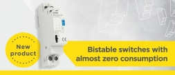 Bistable switches with almost zero consumption