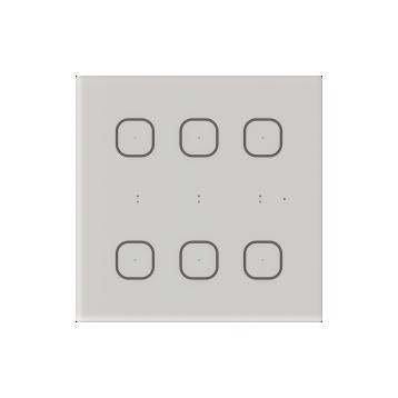 Стъклен стенен контролер GSB3-60 бял