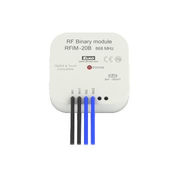Безжичен контактен предавател (4 входа) - RFIM-40B
