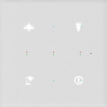 Стенен сензорен контролер GSB3-40 /Бял