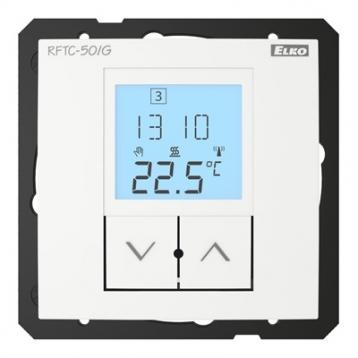 Контролер за безжично управление на температура RFTC-150/G /Бял