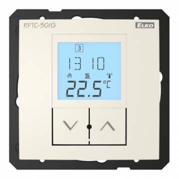 Контролер за безжично управление на температура RFTC-150/G /Слонова кост