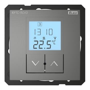Контролер за безжично управление на температура RFTC-150/G /Сив