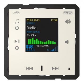 LARA Radio (radio mounted in the wall) /Ivory