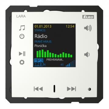 Радио LARA (радио, монтирано в стената) /Лед