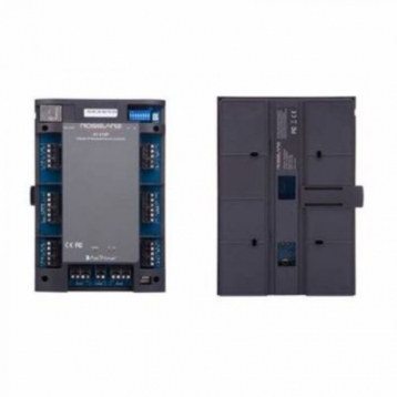 Network controller for DIN rail mounting