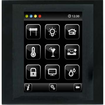Устройство с touch-контрол - BUS Touch-B (С конзола) /Никел-Алуминий