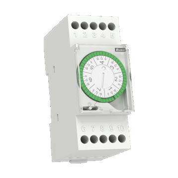 ATS-2WR Аналогов часовник със седмична програма