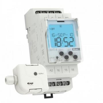 SHT-6/230V AC - Цифрово реле + DCFR-1