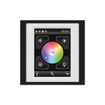 Control unit with touch screen EST3 Black/White