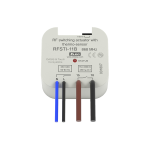 Switch unit with a temperature sensor (flush mounted) - RFSTI-11B / 230V