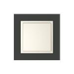 Кристал - черно / перлено