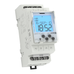 Digital time switch with an astronomical program SHT-4  /230V AC