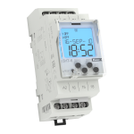 The SHT-6 time switch with DCF managing /230V AC