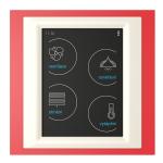 Устройство с touch-контрол - RF Touch-B (С конзола) /Червено-Бял
