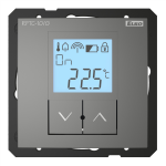 Simple wireless temperature controller - RFTC-10/G /Grey