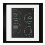 Устройство с touch-контрол - RF Touch-B (С конзола) /Черно-Бяло