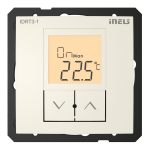 Digital room thermo-regulator IDRT3-1 /Ivory