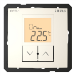 Digital room thermo-regulator IDRT3-1 /Pearl