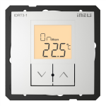 Digital room thermo-regulator IDRT3-1 /Aluminum