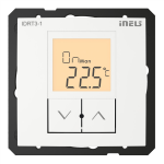 Digital room thermo-regulator IDRT3-1 /White
