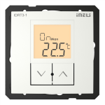Digital room thermo-regulator IDRT3-1 /Ice