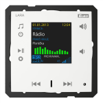Радио LARA (радио, монтирано в стената) /Бял