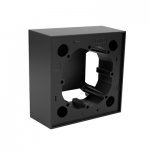 Кутия за монтаж на повърхности -черен