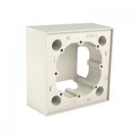 Кутия за монтаж на повърхности - слонова кост