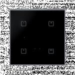 Glass touch controller - 4 buttons, BLACK SHARP RFDW-71/B