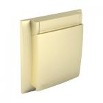Водоустойчива рамка - златна