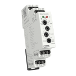 CRM-113H/UNI - Мултифункционално времево реле