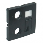 Cover Plate for R - TV - RJ45